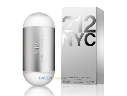 Carolina Herrera 212 NYC Edt 100ml