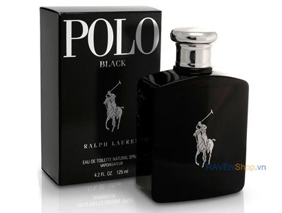 Polo Black Ralph Lauren Edt 125ml