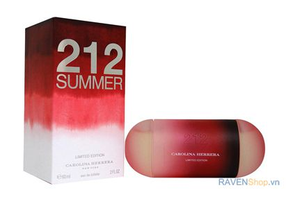 Nước hoa nữ Carolina Herrera 212 Summer Limited Edition EDT 60ml