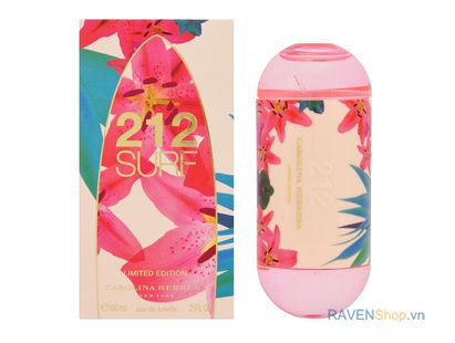Nước hoa nữ Carolina Herrera 212 Surf Limited Edition EDT 60ml